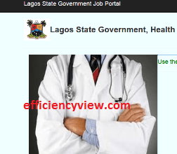 Photo of Lagos State Health Service Commission Recruitment 2020 apply here