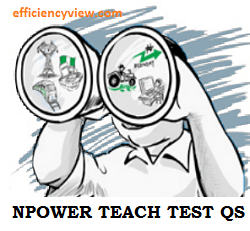 Npower Teach Assessment Test Exam Past Questions and Answers 2020/2021