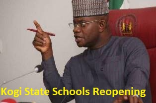Photo of Kogi State announces date for Schools Resumption both Secondary and Tertiary Institutions