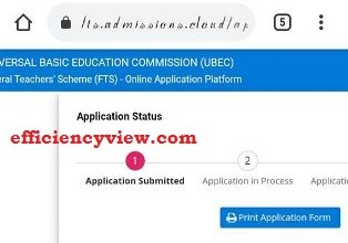 Photo of How to create account and login Portal for UBEC Federal Teachers Scheme Recruitment 2020/2021 – fts.admissions.cloud