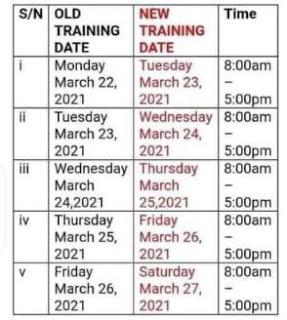 New Entrepreneur Training Date