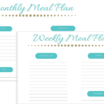 The Results of Monthly Meal Planning for February [with Free Printable]