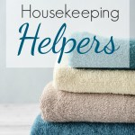 5 Favorite Housekeeping Helpers