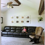 Our Painted Living Room and Kitchen Reveal