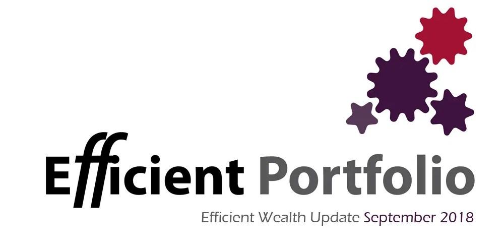 Efficient Wealth Update September 2018