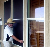 Exterior Solar Screen | Efficient Window Coverings