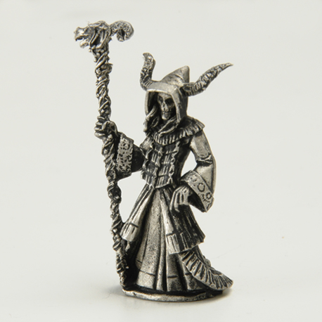 Lich Priestess with Staff & Robes