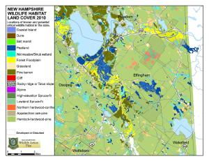 Map - Wildlife Habitat Landcover