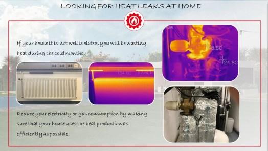 FLIR ONE -Looking for heat leaks at home