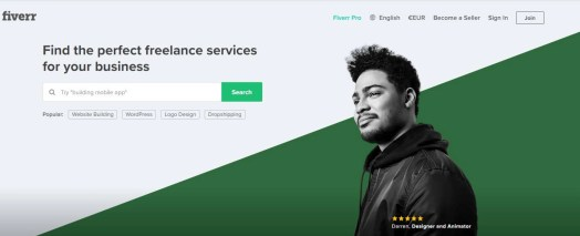 Outsourcing to Fiverr