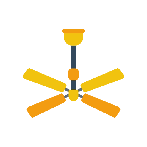 Ceiling fan electricity usage