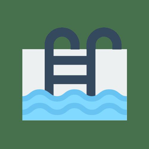 Swimming pool water usage