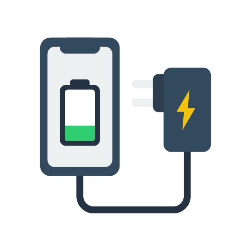 Cell phone charger electricity usage calculator