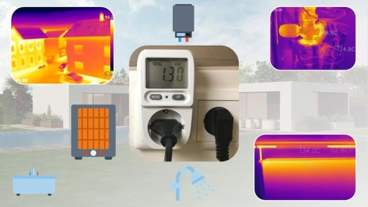 Measure your heating usage
