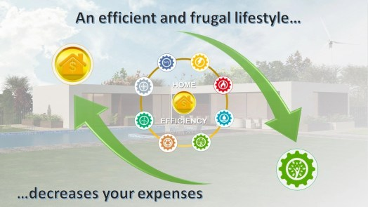 A frugal lifestyle saves money