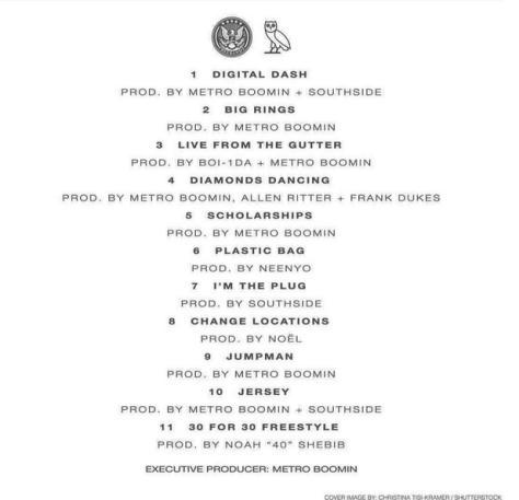 What A Time To Be Alive - Tracklist