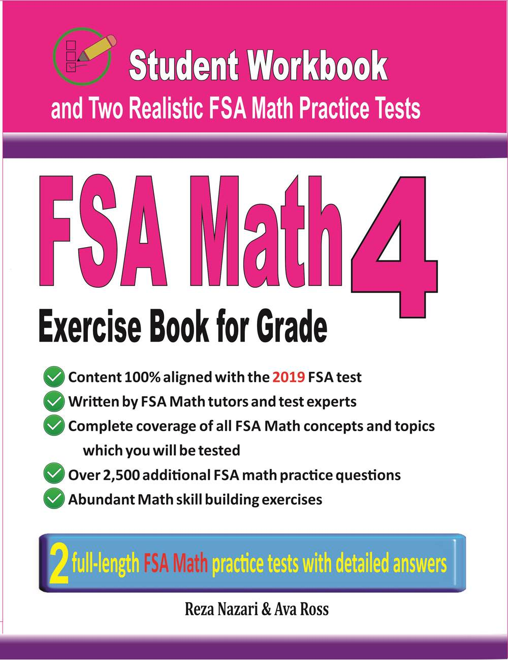 medium resolution of Grade 4 FSA Math Worksheets - Effortless Math
