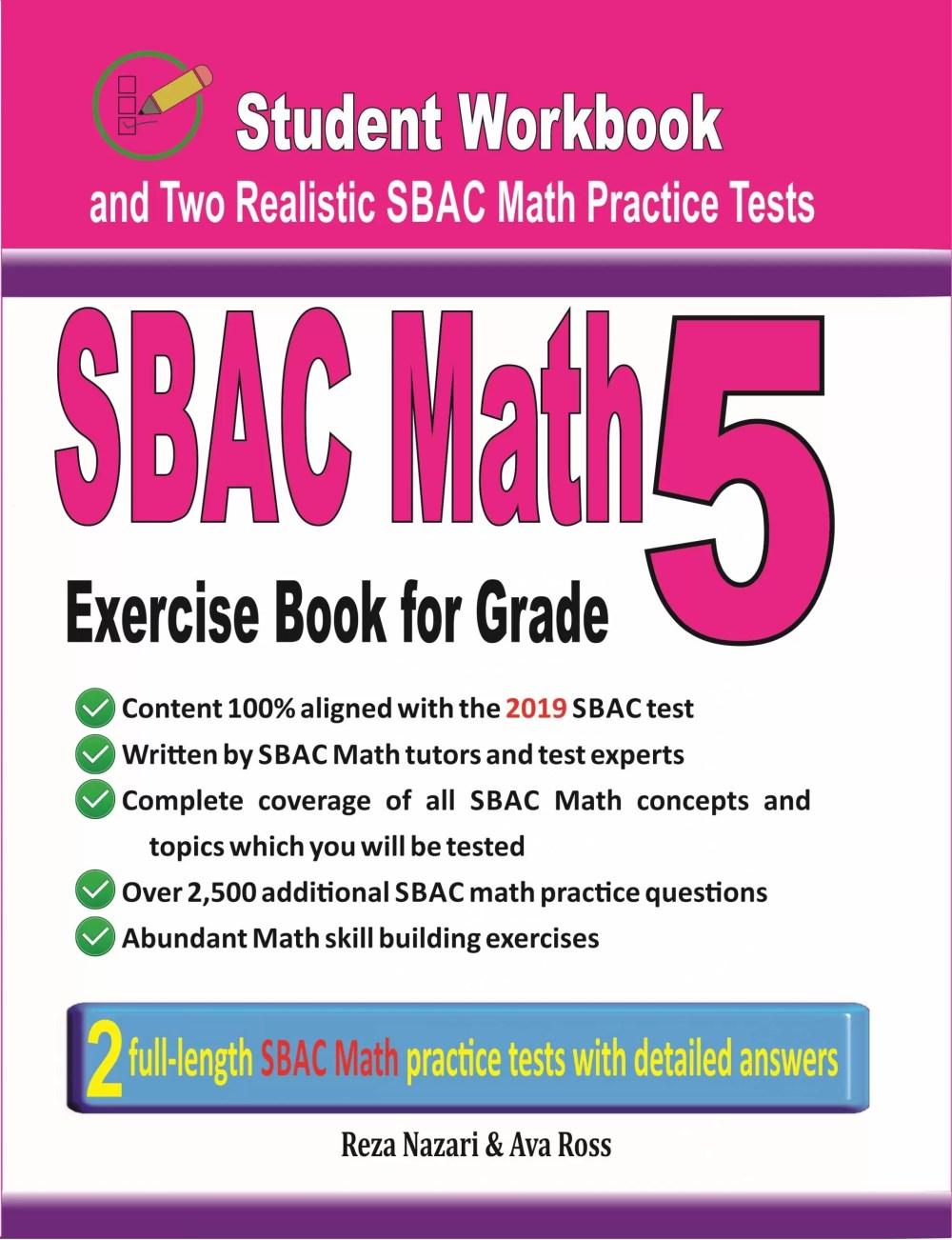 medium resolution of Grade 5 SBAC Math Worksheets - Effortless Math
