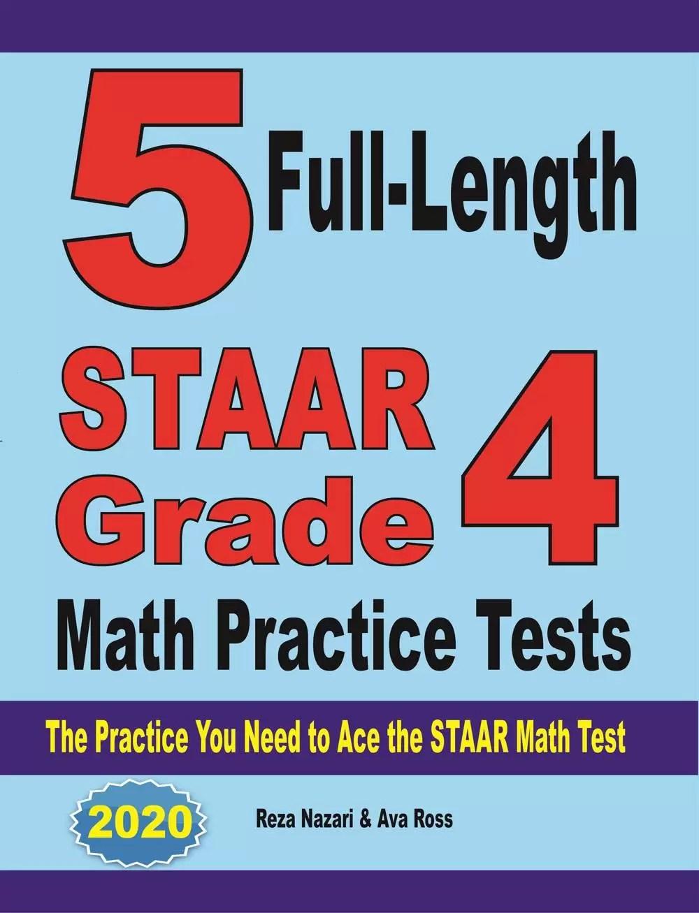 hight resolution of Grade 4 STAAR Math Worksheets - Effortless Math