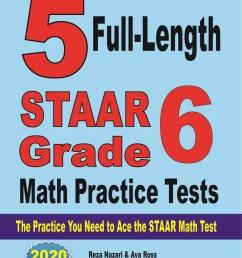 Grade 6 STAAR Math Worksheets - Effortless Math [ 1307 x 1000 Pixel ]