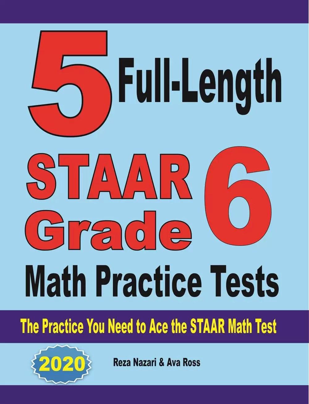 medium resolution of Grade 6 STAAR Math Worksheets - Effortless Math