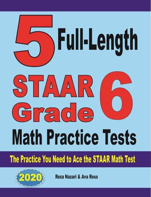 small resolution of Grade 6 STAAR Math Worksheets - Effortless Math