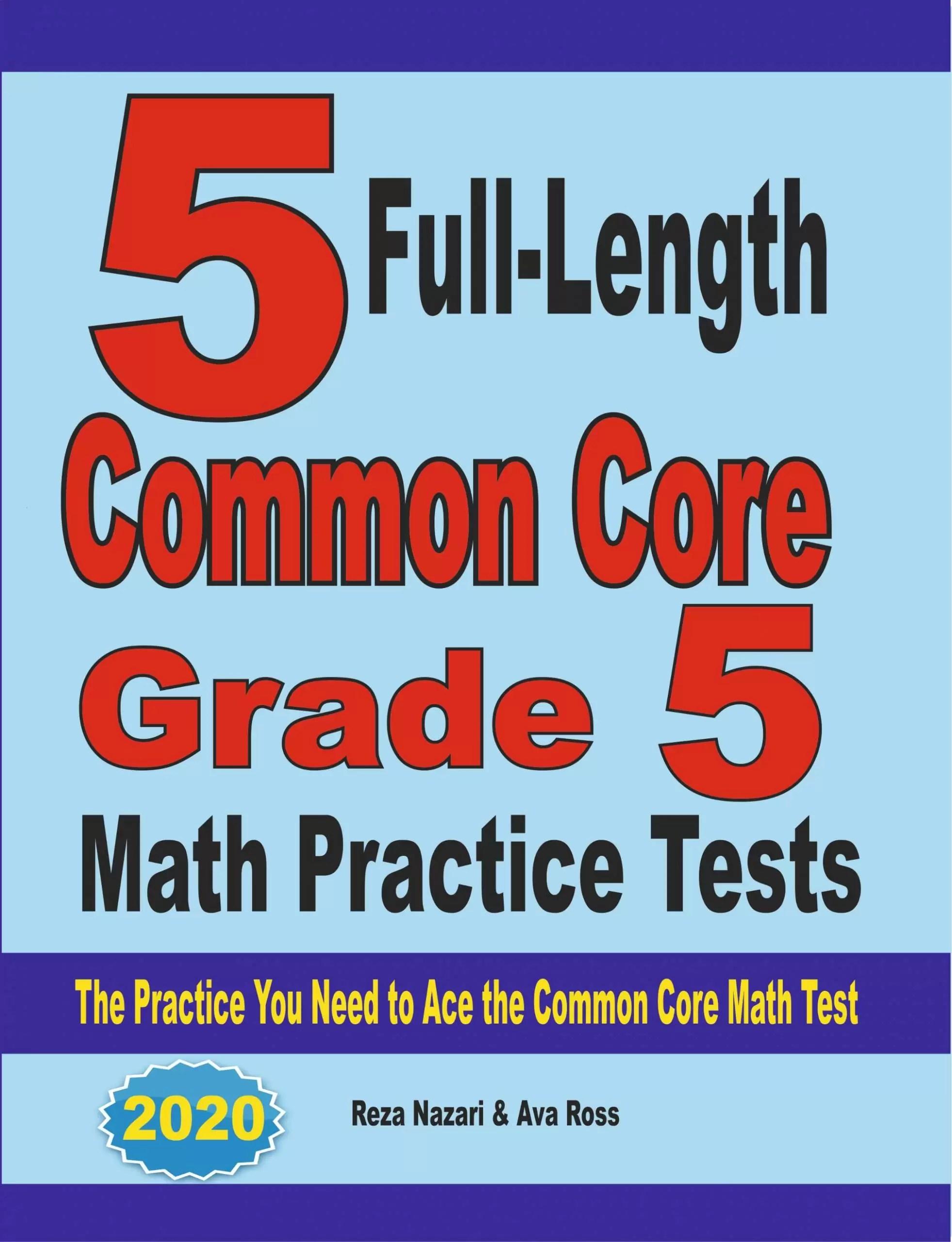 hight resolution of Grade 5 Mathematics Worksheets - Effortless Math