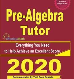 Pre-Algebra Worksheets - Effortless Math [ 1302 x 1000 Pixel ]