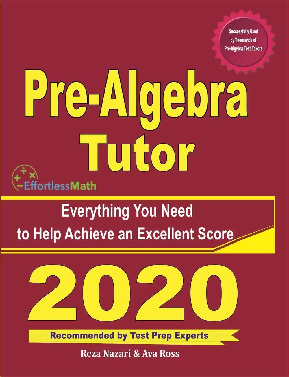 medium resolution of Pre-Algebra Worksheets - Effortless Math