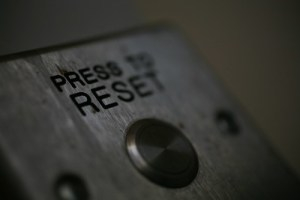 button reading press to reset