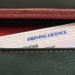Who enjoys filling our an application for a driving licence?