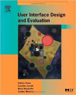 Book cover: User Interface Design and Evaluation