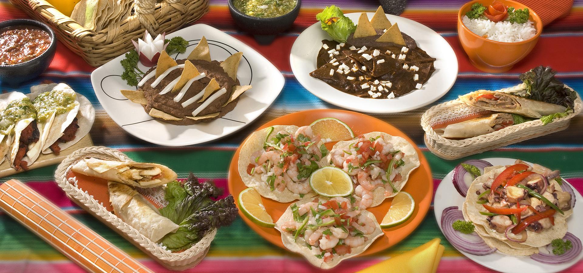 Recetas de comida mexicana