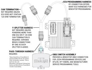 GM 9802 V6 PCM Programming Harness  EFI Connection, LLC
