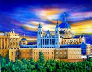 exposicion pintura, oleos y tallas victor juez,