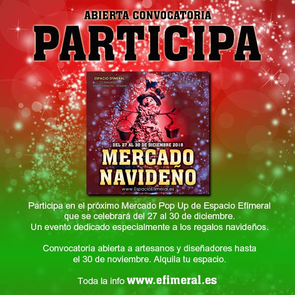 Convocatoria Mercado Navideño del 27 al 30 de diciembre