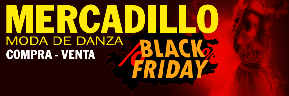 Mercadillo Moda de Danza: Black Friday