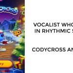 Vocalist who sings in rhythmic speech   Codycross Answers