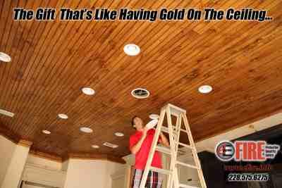 E Fire Custom Home Speaker Install Gulfport
