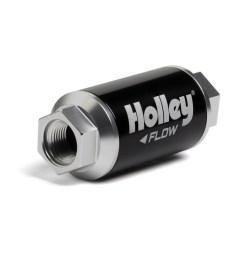 10 100 gph hp billet fuel filter 100 micron 3 8 [ 1000 x 1000 Pixel ]