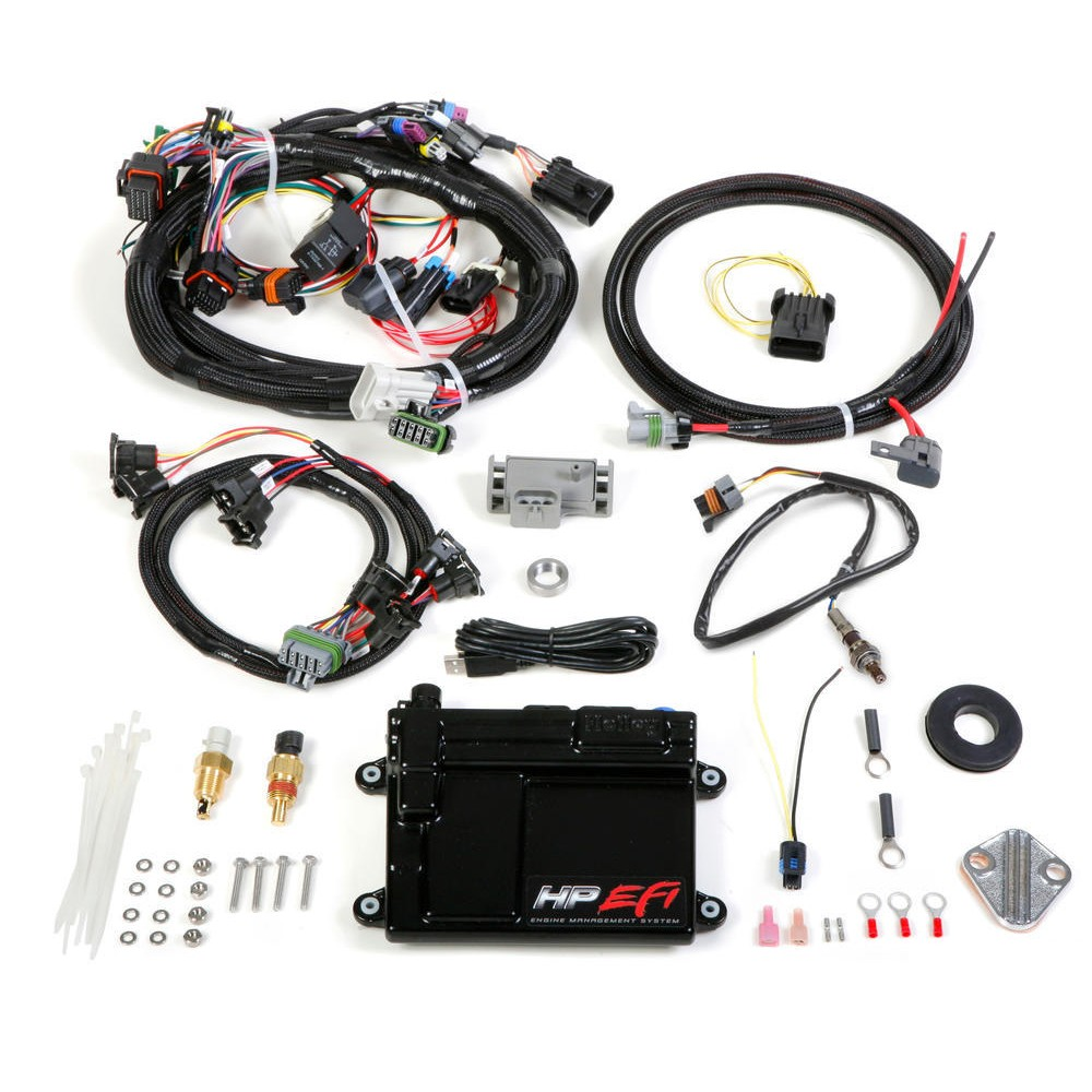 hight resolution of holley 550 604n hp ecu harness ships free at efisystempro com and kit universal mpfi with ntk sensor