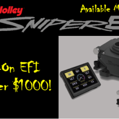 Holley Oil Pressure Safety Switch Wiring Diagram Dayton 1 Hp Electric Motor Sniper Efi Cost Effective Easy To Install