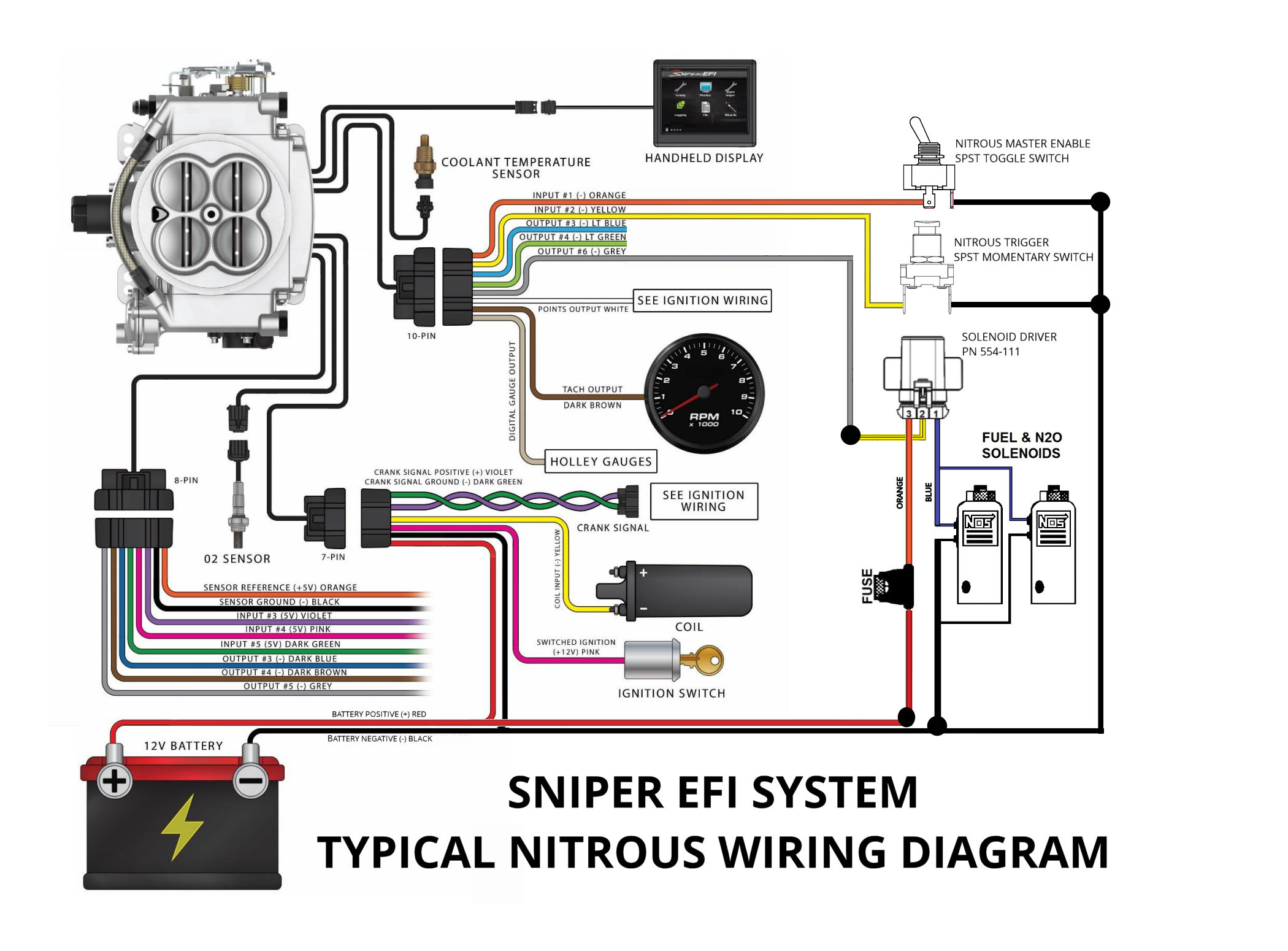 nitrous oxide wiring diagram upright scissor lift configuring and sniper efi system for
