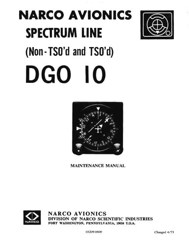Narco DGO Series