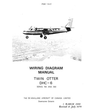 DeHavilland DHC6 Twin Otter 1968 Wiring Diagram Manual