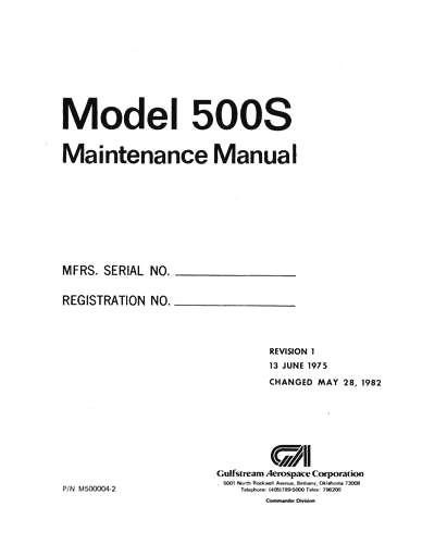 Aero Commander 500S Series