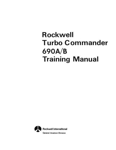 Aero Commander 690, 695 Series
