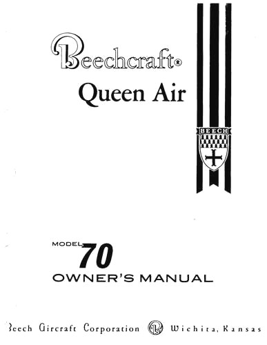 Beech POH's Flight & Owner's Manuals