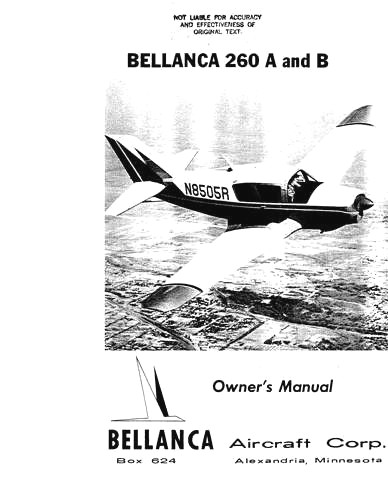 Bellanca 260 & Viking 300 Series
