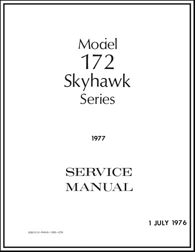 1976 CESSNA 172M POH PDF